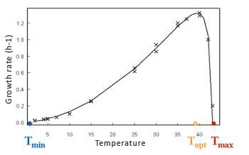 Temperature cardinal model